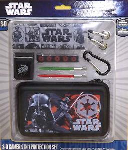 Gameon Nintendo 3DS DSi Games Star Wars Jedi Case Protector 3D Darth Vader 9/1