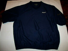 Akron Zips Embroidered Golf Jacket Shell Footjoy Short Sleeve Men's XL Soft