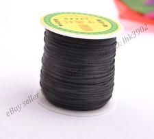1Roll 50Yards 2MM Chinese Knot Macrame Bracelets Braided Nylon Cord Thread
