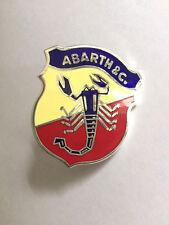 Abarth Emblem  Fiat 500 600 850 124 Spider NEU 50mm