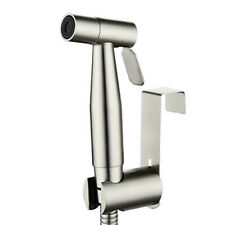 Toilet Bidet Spray Stainless Steel Handheld Shattaf Bathroom Sprayer Shower Head