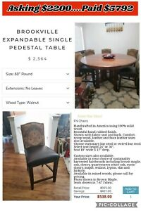 *Must Sell* Brookville Pub Table & Chairs