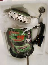 Stainless Steel Nascar Travel Mug Pewter Engraved #18 Bobby Labonte 16 Oz