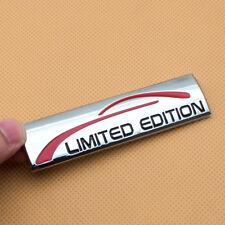 Chrome Metal LIMITED EDITION Rear Trunk Badge Side Fender Sport Emblem Sticker