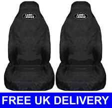 LAND ROVER BLACK EDITION SEAT COVERS PROTECTORS Defender Freelander Discovery