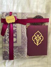 Muslim Gift pack with Velvet Qura, Prayer Mat Rug and  Beads Tasbeeh
