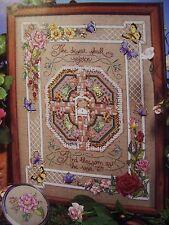 THE ROSE GARDEN Cross Stitch Pattern Bible Scripture Religious