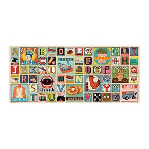 Fred 1000 Piece Jigsaw Puzzle - XYZ Blocks by Christian Northeast