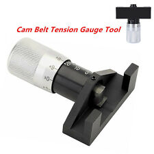Car Engine Cambelt Timing Belt Tension Tool Gauge Tensioner Test Garage Tools