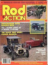 Rod Action Magazine July 1980 Buick Free Spirit EX No ML 031617nonjhe