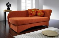 Canape Recamiere Chaiselongue Schlafsofa Schlafcouch Liege NATASCHA Restyl Neu