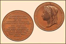 Melbourne International Exhibition Centenary Medal in Copper