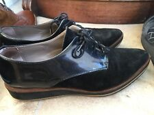 RUSSELL AND BROMLEY Topform brogues Leather Patent Suede  Black Grey 6 39