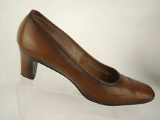 "Florsheim Serenades Heel 2.5"" Pump Burnished EU 39 US 8.5 AA Women Brown Leather"