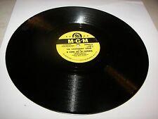"CANTERBURY CHOIR O COME ALL YE FAITHFUL / THE FIRST NOEL 10"" 78 MGM 30069"