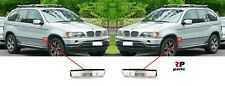 FOR BMW X5 E53 99-06, BMW E36 96-00 SIDE FENDER INDICATOR REPEATER WHITE PAIR
