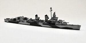 Neptun T1361 US Destroyer Fletcher Camouflaged 1943 1/1250 Scale Model Ship