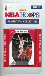 2020-21 Panini NBA Hoops Chicago Bulls Basketball Team Set