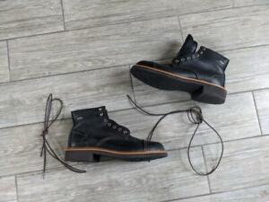unworn USA madeWOLVERINE boots GORE-TEX janson 9 M black W40418