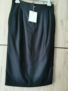 RRP €390 ✨MAX MARA Blue Virgin  WOOL&SILK Skirt  USA2_ IT36_D32_ GB4_ FR34