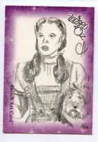 Wizard of Oz Sketch Card by Chris Henderson Dorothy