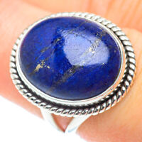 Lapis Lazuli 925 Sterling Silver Ring Size 7.5 Ana Co Jewelry R53656