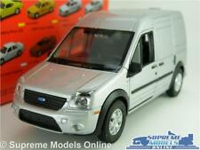FORD TRANSIT CONNECT MODEL VAN CAR 1:36-1:38 SCALE SILVER WELLY NEX K8Q