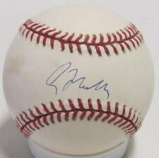 Braves GREG MADDUX Signed NL Baseball #1 AUTO - Hall of Famer - JSA!!