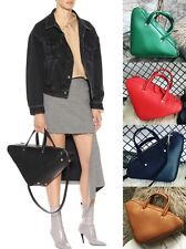 Street Style Innovative Unique Triangle Geometric Small Duffle Shoulder Bag Tote