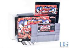 Super Street Fighter II [2] boxed-Super Nintendo SNES NTSC