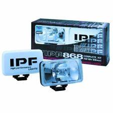 IPF S-8682 HALOGEN H3 FOG LAMPS 2PC 12V 55W CLEAR LENS 4951499007420
