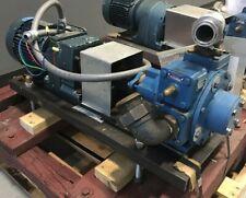 Blackmer Np2f Sliding Vane Pump With 51 75 Relief Valve 3ph 208360v 2hp Gearmotor