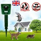 Battery Power Cat Repellent Scarer Deterrent Ultra Sonic Dog Fox Cat Pest Animal