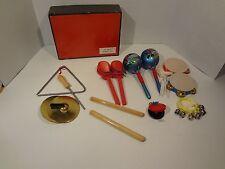 VTG Child's Toy Rhythm Set box marked West Germany
