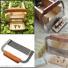 Stainless Steel Soap Wave Cutter Soap Slicer Crinkle Soap Hardwood Making Tools