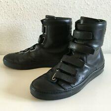 Kris Van Assche Ledersneaker mit Klettverschluss - schwarz - 40,5