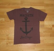 "MACBETH ""Anchored"" T-Shirt Gr. M atticus Blink 182 Angels Airwaves San Diego and"