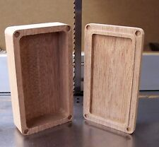 Wood Box Mod Dual 18650 CNC Enclosure DIY  DNA200 Mahogany Hammond 1590B style *