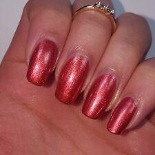 RED COPPER Shiny Nail Polish 15ml indie 5-free handmade cruelty-free vegan