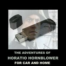 """ENJOY """"HORATIO HORNBLOWER"""" IN YOUR CAR OR.  52 OLD TIME RADIO ADVENTURES!"""
