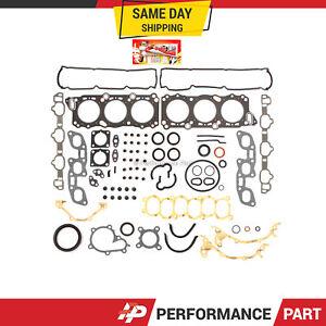 Full Gasket Set for 90-96 Infiniti J30 Nissan 300ZX Turbo 3.0L VG30DE VG30DETT