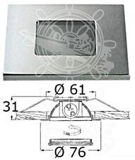 Osculati Chromed Brass Sextans Q Spotlight 20W 12/24V