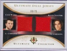 05-06 Cam Ward / Nastiuk Ultimate Rookie HIS JERSEY # 30/75