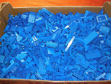 Lego 1 kg blau blaue blue Steine, Platten, Sonderteile Paket Sammlung