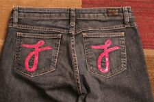 Juicy Couture the Cali Pink Pocket Jeans size 27