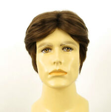 Peluca homme 100% cabello natural castaño claro ref THIBAUT 8