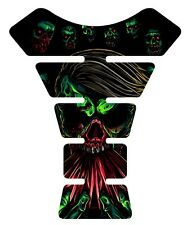 The Walking Dead Green Zombie Motorcycle Tank Pad protector tankpad decal