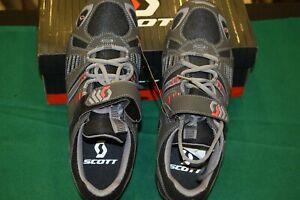 SCOTT Cycling TRAIL Shoes Footwear gray / black Size EUR 43 US 9 toe cleat NIB