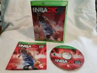 NBA 2K15 (Microsoft Xbox One, 2014) XBO Basketball 2K Sports Game Complete