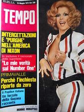 TEMPO n°19 1973 Minnie Minoprio - Verità sul Number One [C90]